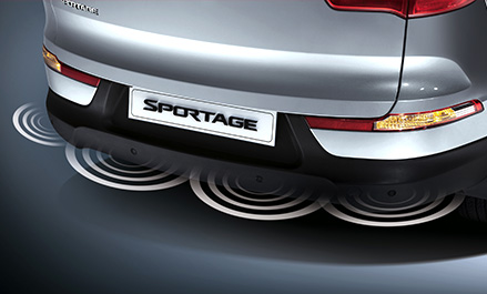 Kia Sportage Features Rear Parking Assistance System